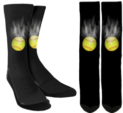 Softball Crew Socks - SockAndShop