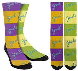 Great! Crew Socks - SockAndShop