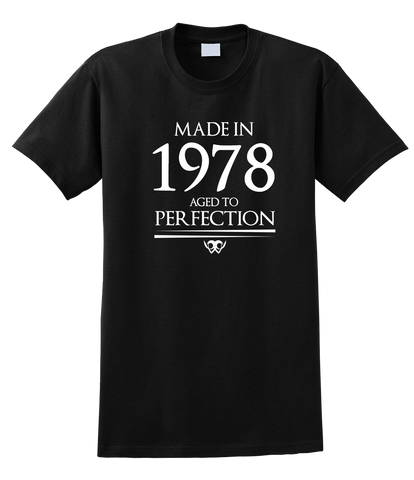Made in 1978 Aged to Perfection Limited Edition Tee - SockAndShop