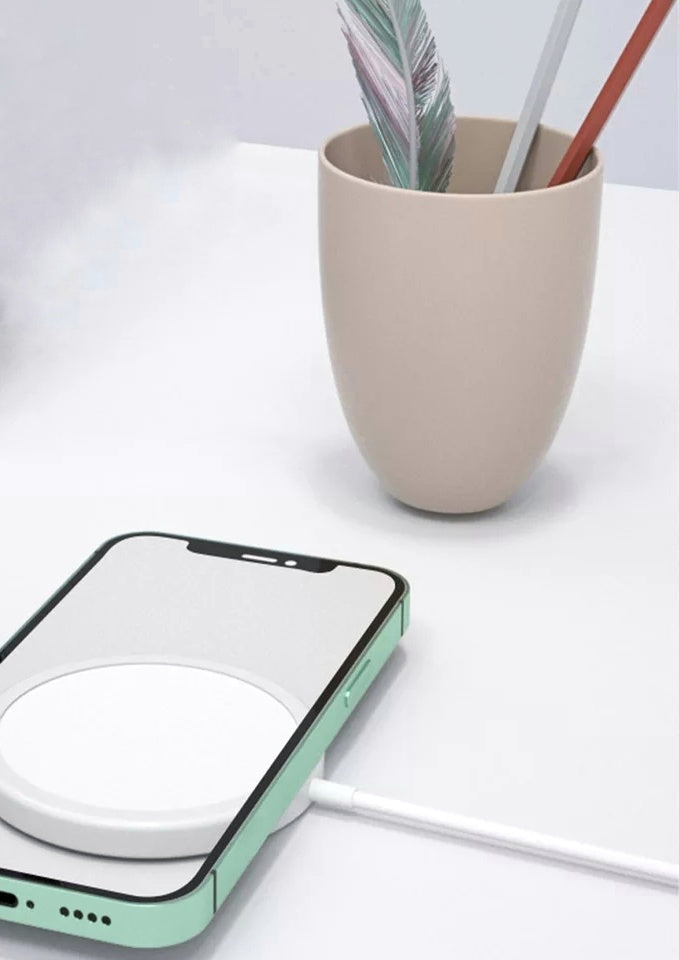 Magnetic Qi Wireless Charger - $36