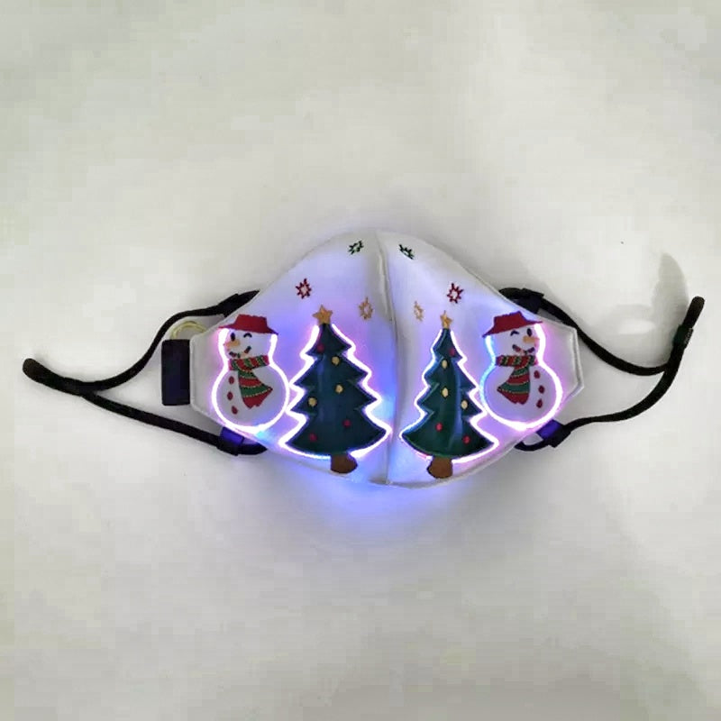 LED lighted face cover - $25.99