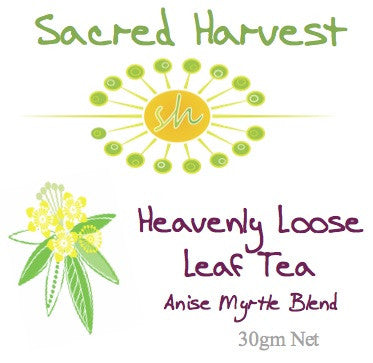 Heavenly (Anise Myrtle Blend) Tea Leaf 25gm