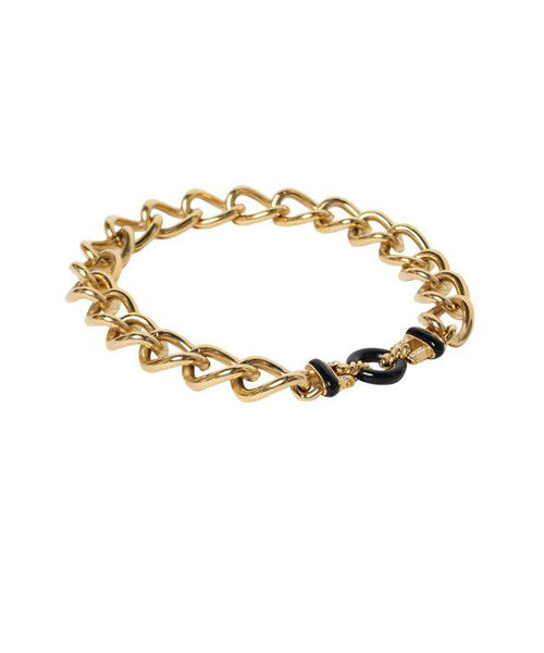 Givenchy Chain Link Choker With Enamel - C.Madeleine's