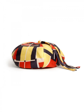 1960s Mod Hat with Scarf