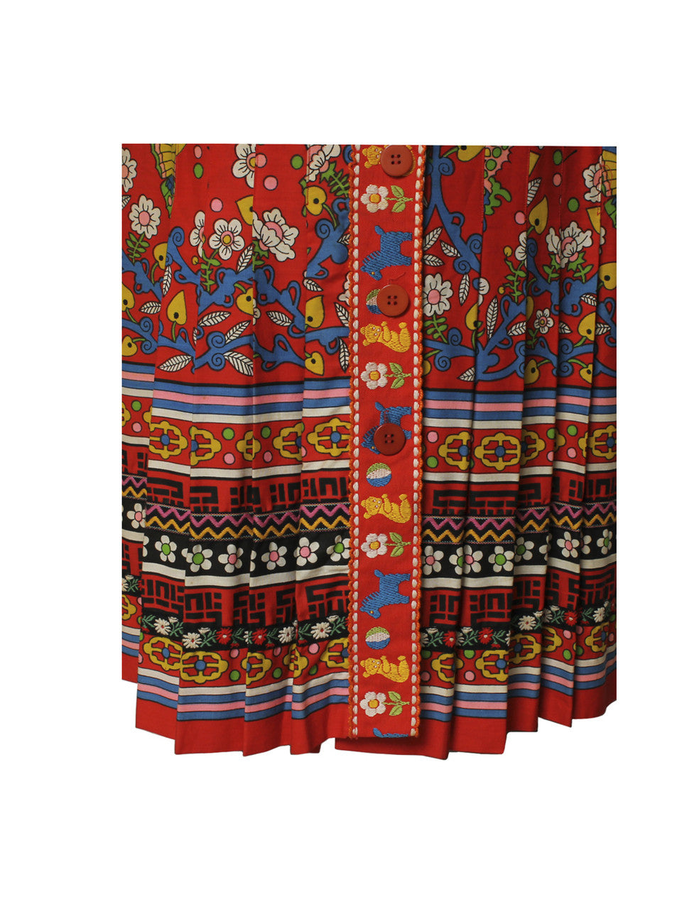 Giorgio di Sant' Angelo 1970s Novelty Skirt