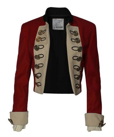 Moschino Cheap & Chic Cropped Marching Band Jacket - C.Madeleine's