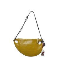 Jean Paul Gaultier Mustard Leather Shoulder Bag - C.Madeleine's