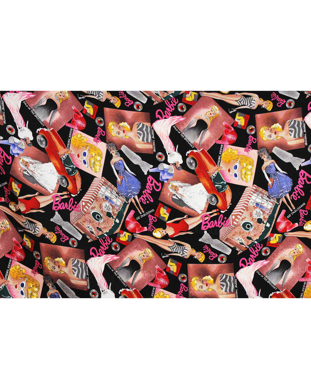 Nicole Miller Barbie Doll Silk Scarf