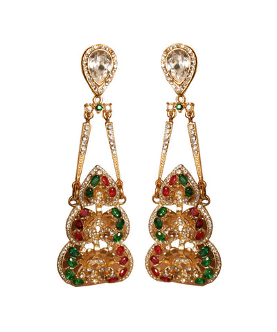 Lawrence VRBA Oversized Rhinestone Chandelier Earrings CMadeleines – Oversized Chandelier Earrings