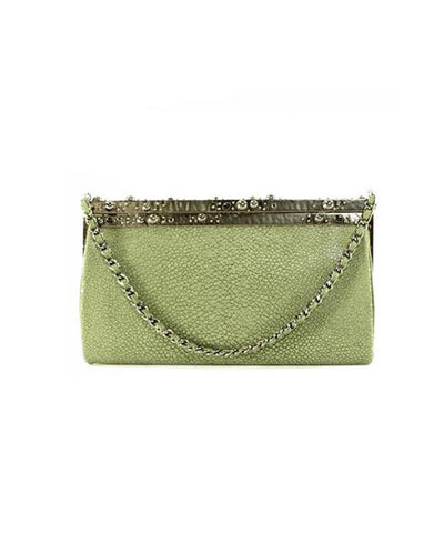 Yves Saint Laurent Hard Shell Clutch