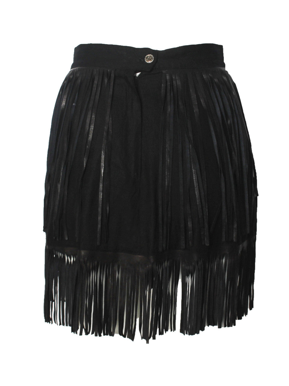 Claude Barthelemy Fringe Jacket and Skirt Set