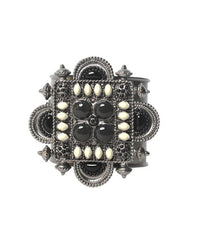 Chanel Tribal Jeweled Cuff