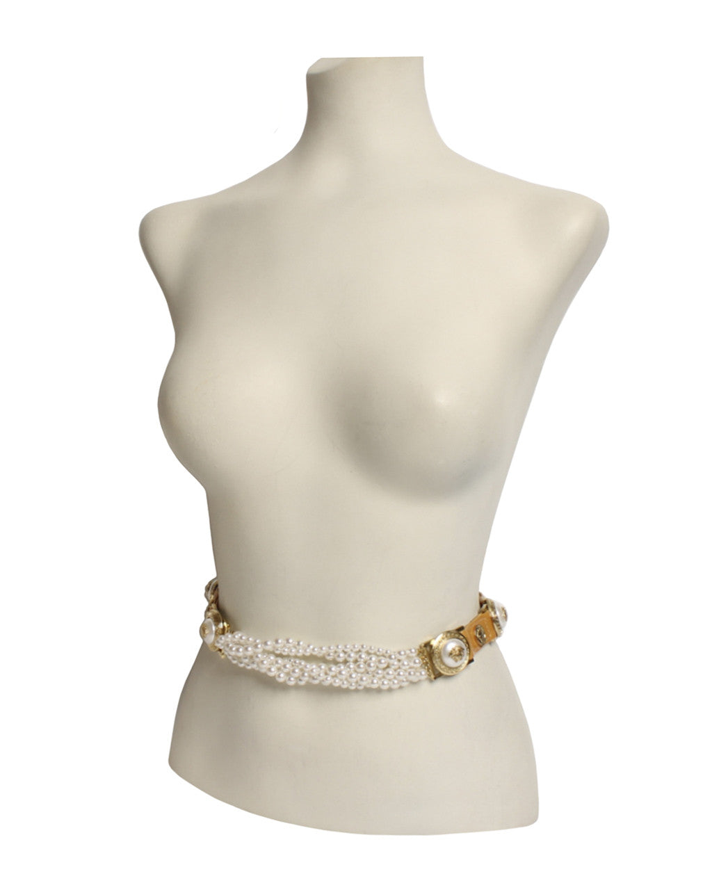 Gianni Versace 1990s Pearl Snap Belt