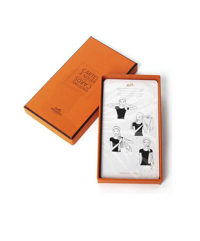 "Hermès ""Cartes A Nouer"" (Knotting Cards) Volume 3"