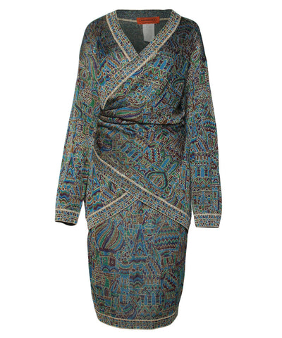 "Missoni ""Taj Mahal"" Wrap Cardigan and Skirt - C.Madeleine's"