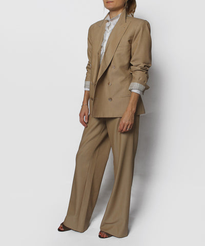 Progress- Jean Paul Gaultier Khaki Two Piece Suit - C.Madeleine's