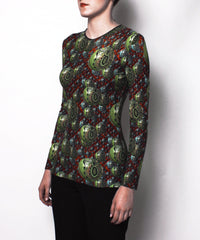 Jean Paul Gaultier Psychedelic Graphic Print Top