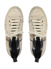 Ann Demeulemeester Ombre High Top Sneakers