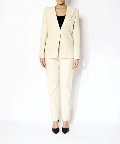 Chanel Cream Pant Suit