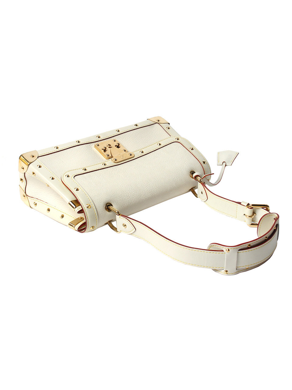 Louis Vuitton Cream Suhali Le Talentueux Studded Handbag