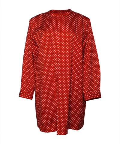 Yves Saint Laurent 1980s Polka-Dot Coat
