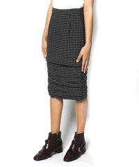Gianni Versace Wool Pencil Skirt - C.Madeleine's