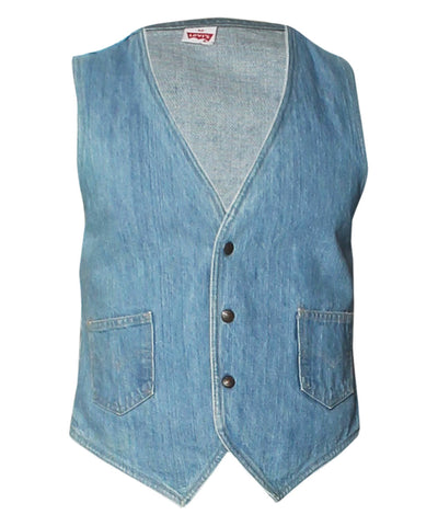 Levi's Light Denim Vest - C.Madeleine's