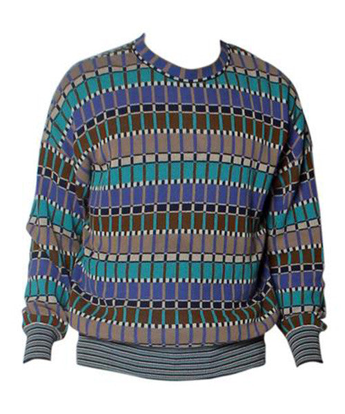 Missoni Men's Classic Multiprint Knit Sweater - C.Madeleine's