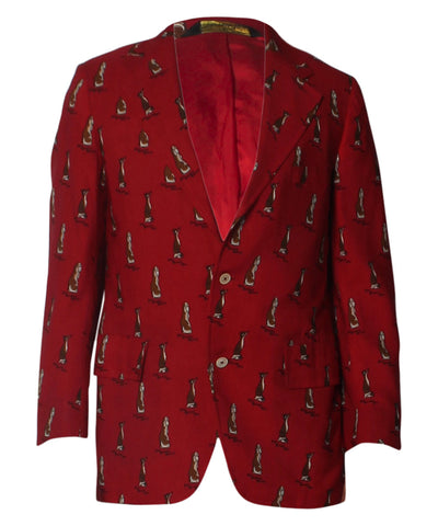 Norman Hilton Red Men's Blazer