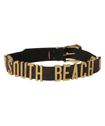 "Progress- Tobacco Road Belt Company ""South Beach"" Leather Belt - C.Madeleine's"