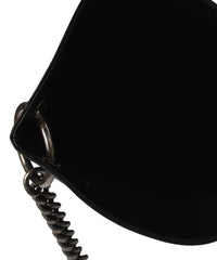 "K.PROGRESS- Chanel ""Oser Sans Poser"" Black Leather Cross Body Slim Bag (2015 Collection) - C.Madeleine's"