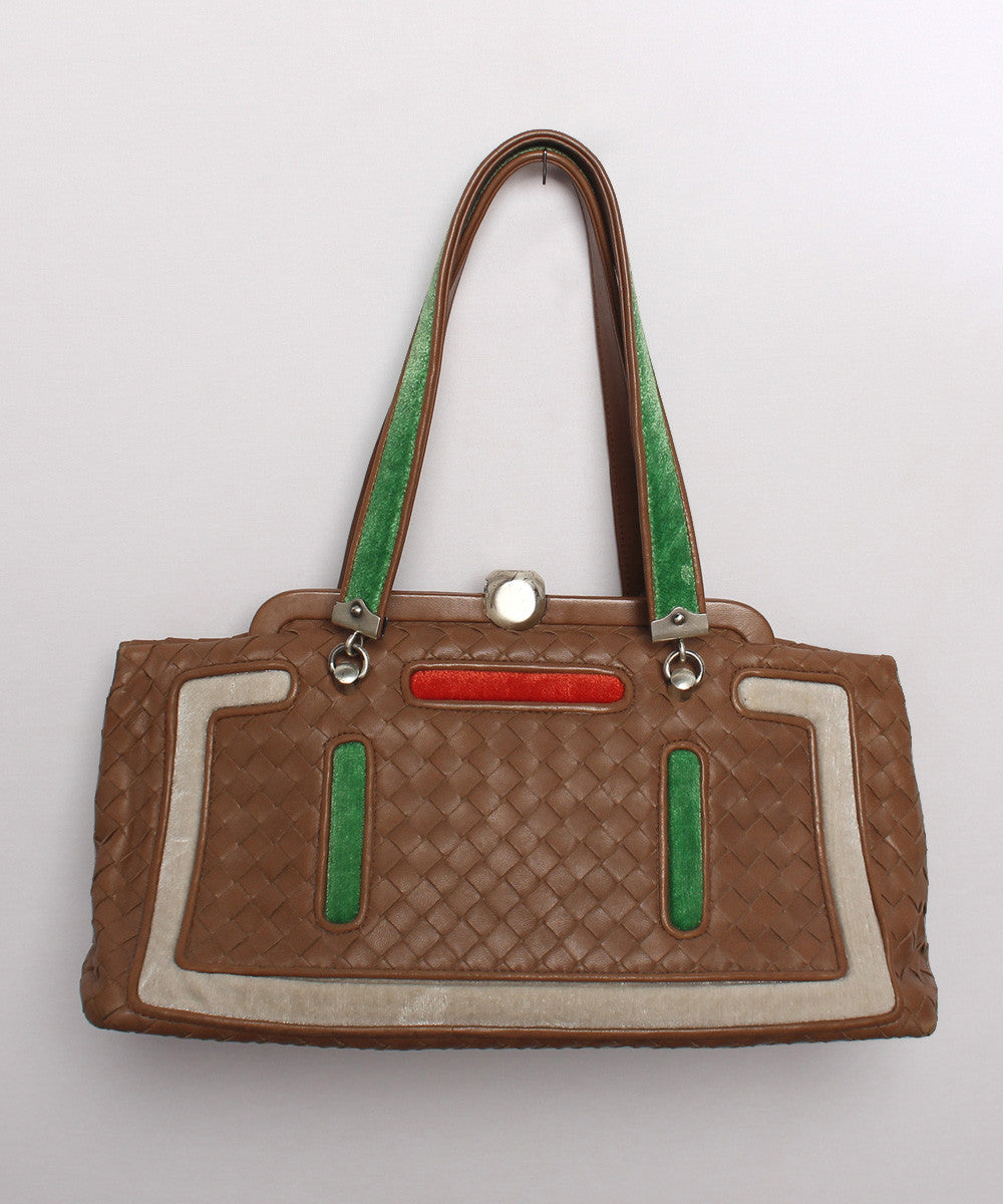 Bottega Veneta Woven Leather Purse - C.Madeleine's