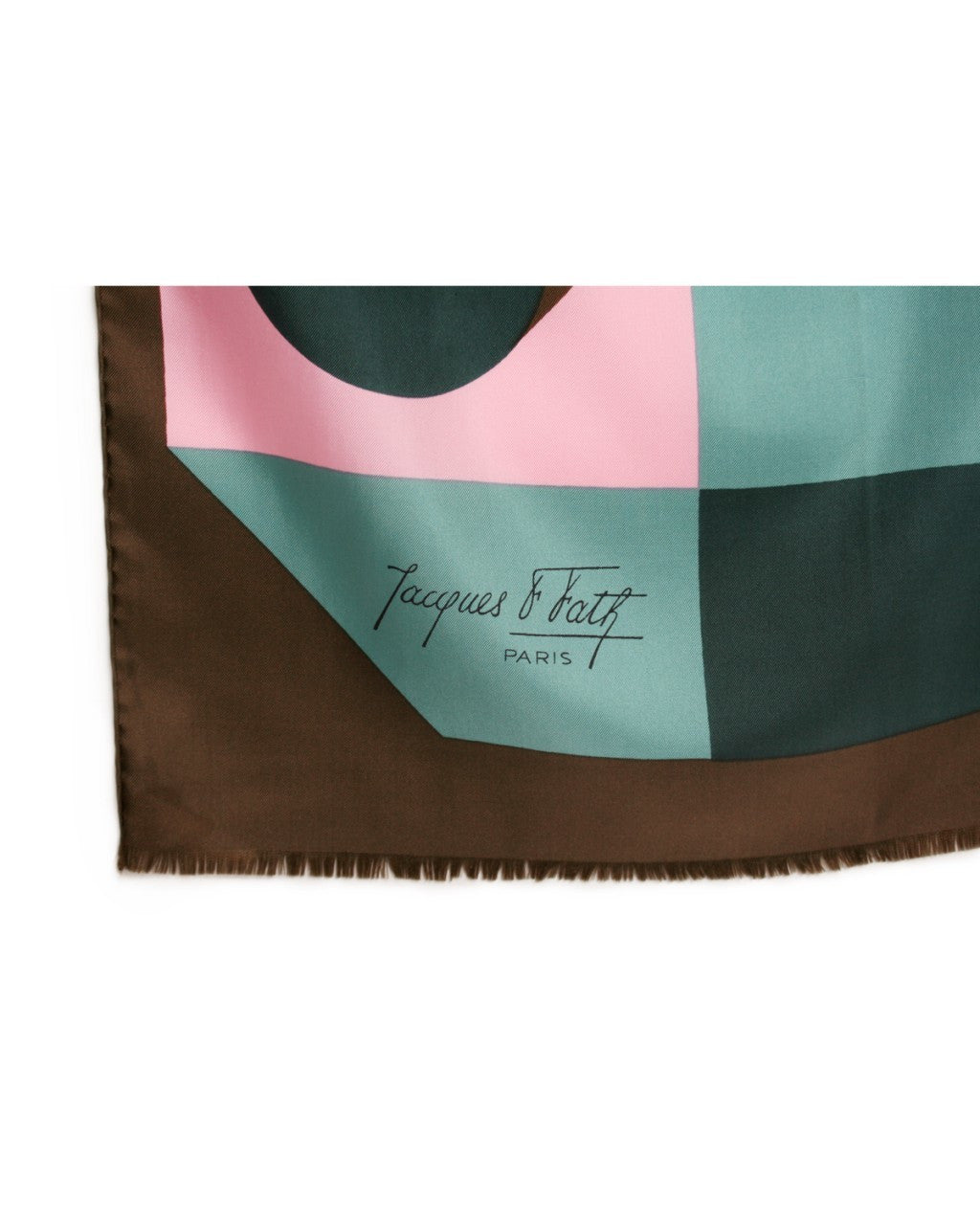 Jacques Fath Silk Scarf
