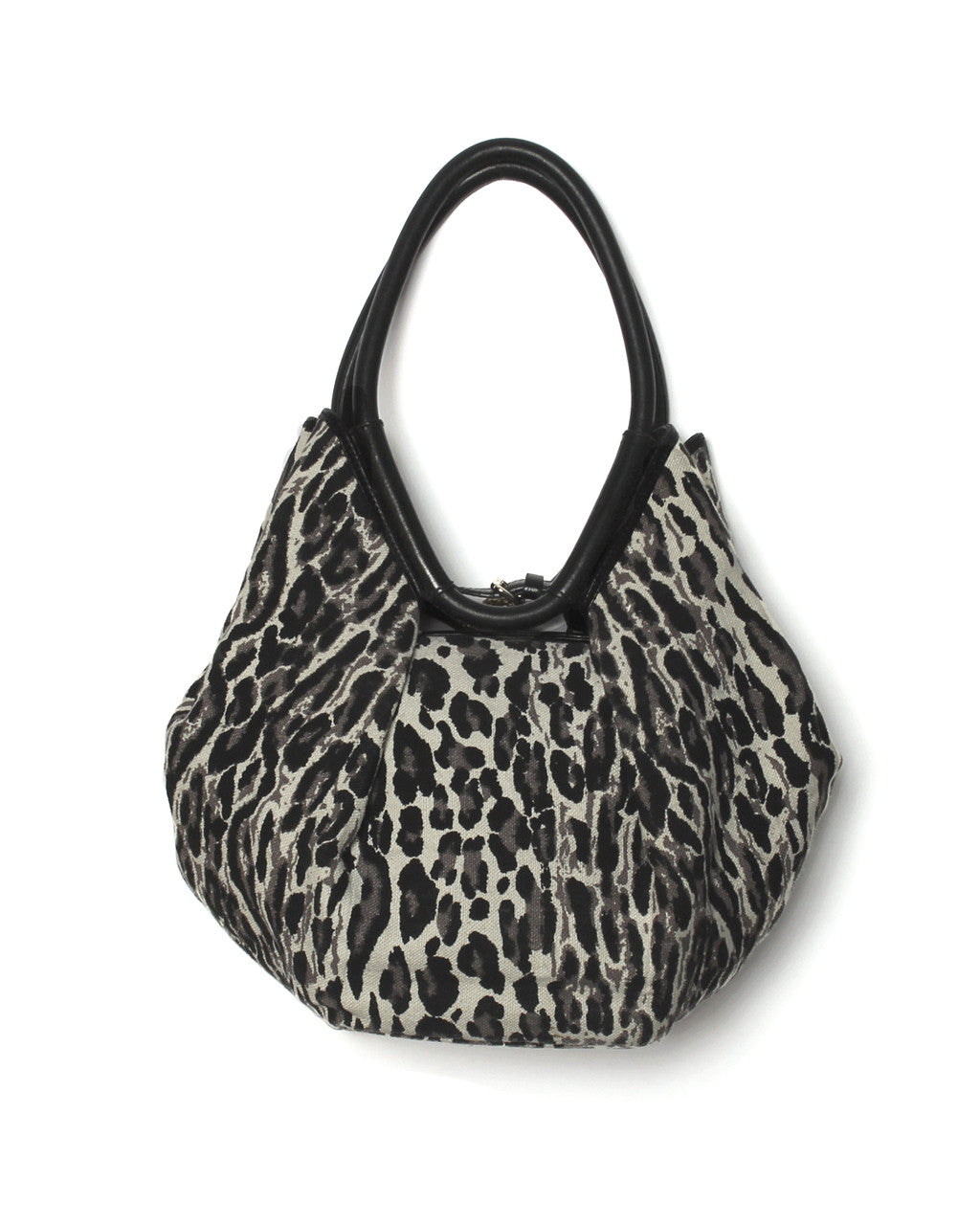 Jimmy Choo Canvas Diego Tote with Brass Snake Handles