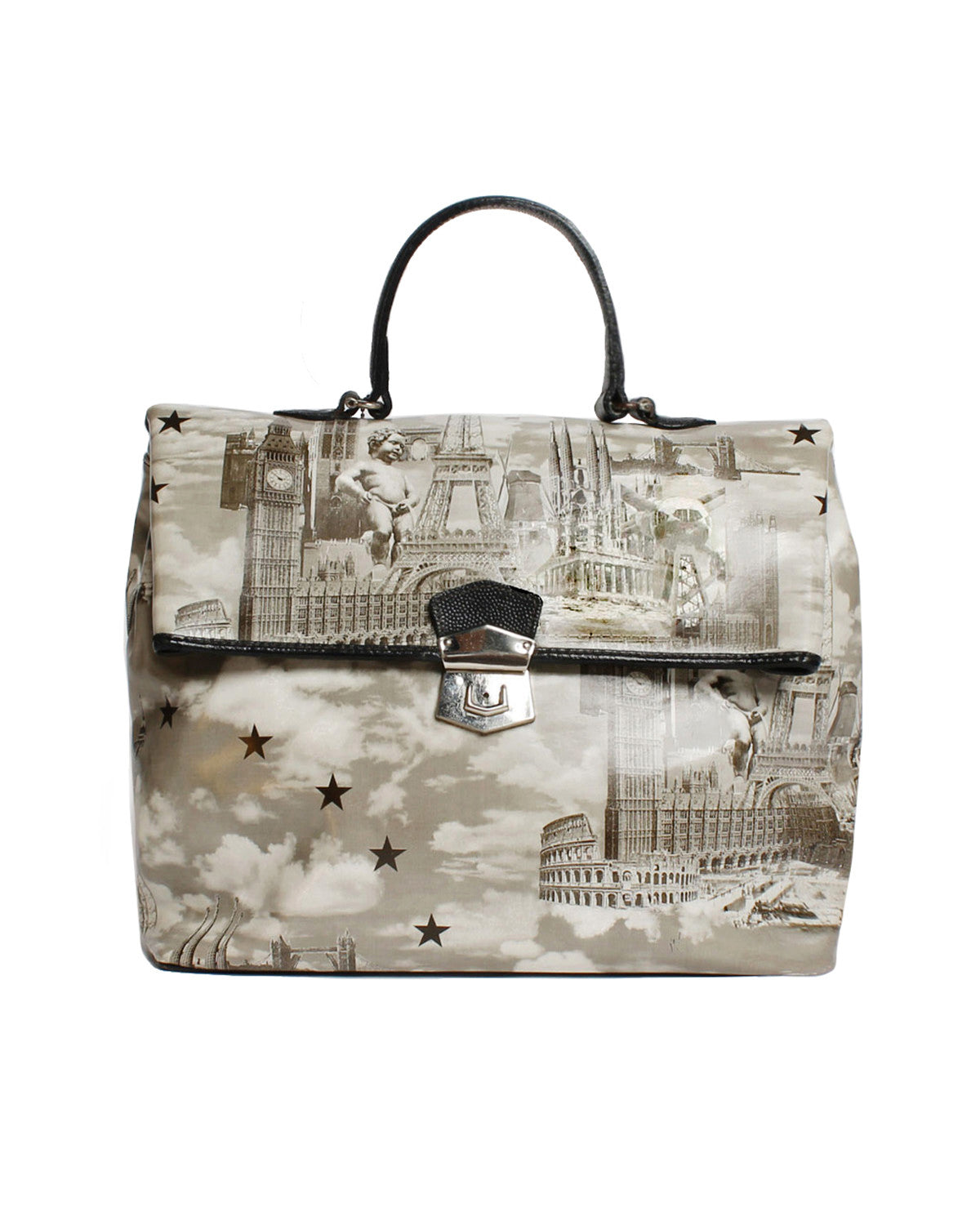 Jean Paul Gaultier Angel Paris Fold Over Bag