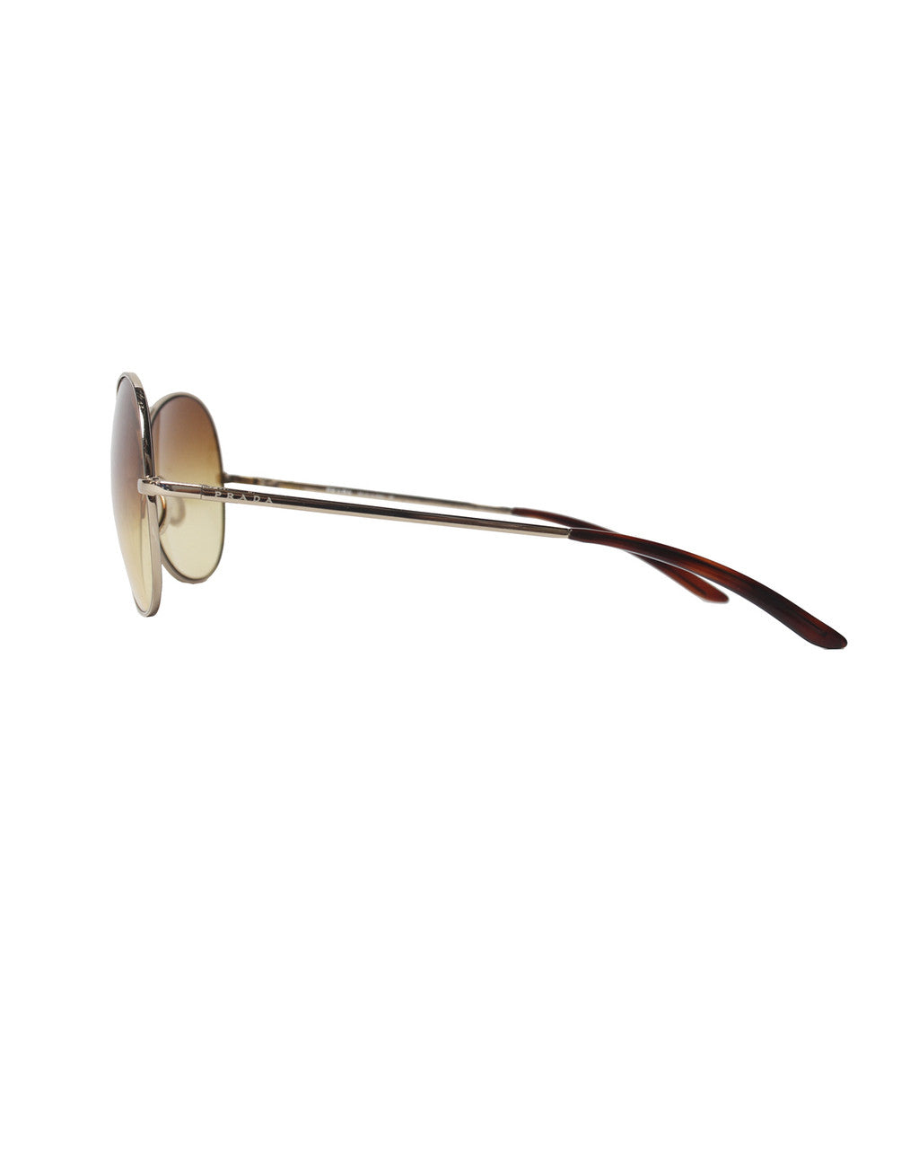 Prada Wire Framed Aviator Sunglasses