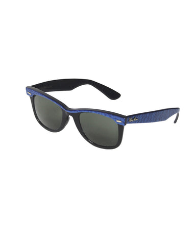 Ray-Ban Wayfarer Black & Blue Sunglasses