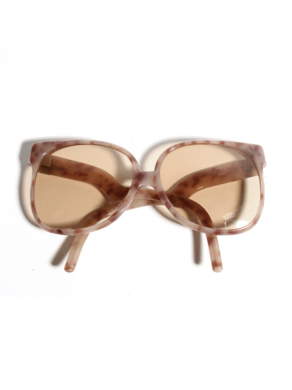 Yves Saint Laurent 1980s Nougat Sunglasses