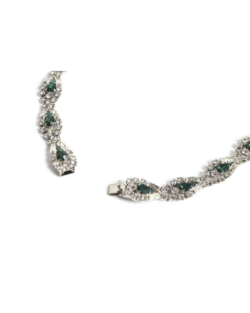 Faux Emerald Necklace - C.Madeleine's
