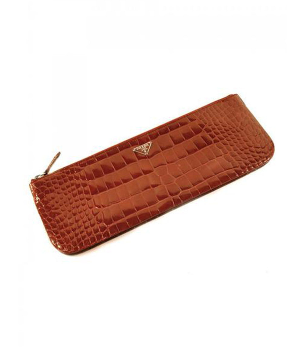 Prada Alligator Clutch