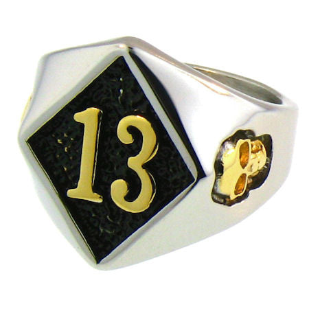 Diamond 13 -Gold - Unleashed Jewelry