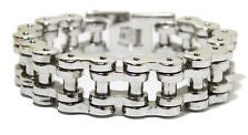 Stainless Steel Bike Chain 1' SS - Unleashed Jewelry
