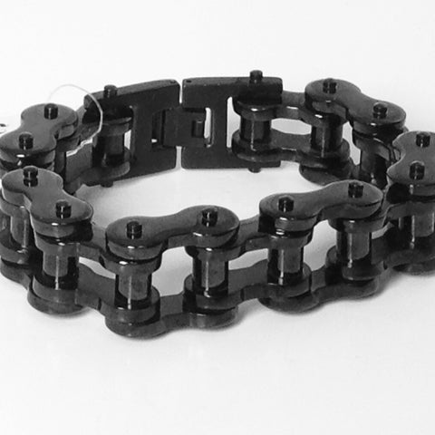 Stainless Steel Bike Chain 3/4 inch Black