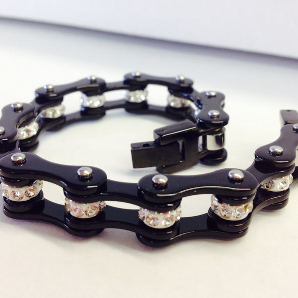 Bling Bike Chain-Black