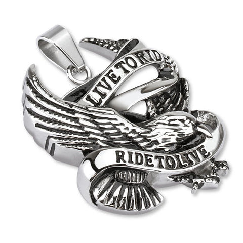 Live to Ride Large - Unleashed Jewelry