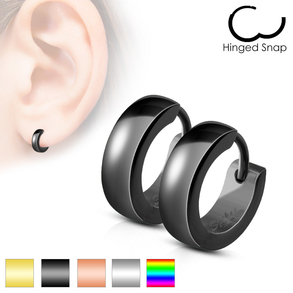Huggies Earrings - Unleashed Jewelry