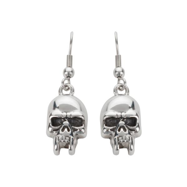 Fang Skull Earrings