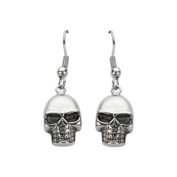 Skull Earrings - Unleashed Jewelry