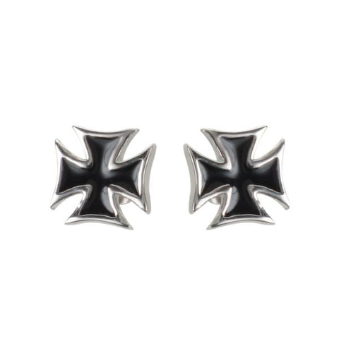 Iron Cross Earrings- Studs