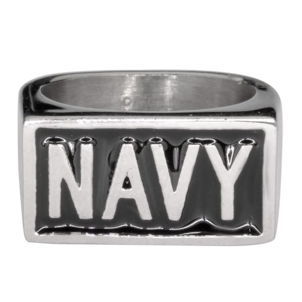 NAVY Stainless Steel Ring